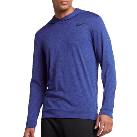 51aaace46 Nike Shirts | Large Hyper Dry Breathe Lightweight Hoodie | Poshmark